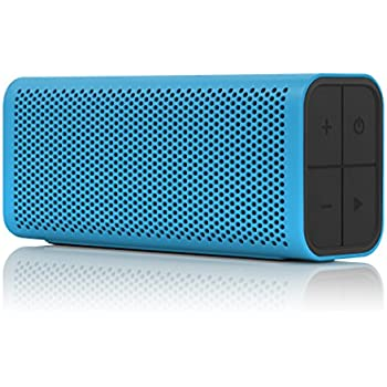 BRAVEN 705 Portable Wireless Bluetooth Speaker [12 Hr Playtime][Water Resistant] Built-In 1400 mAh Power Bank Charger - Cyan