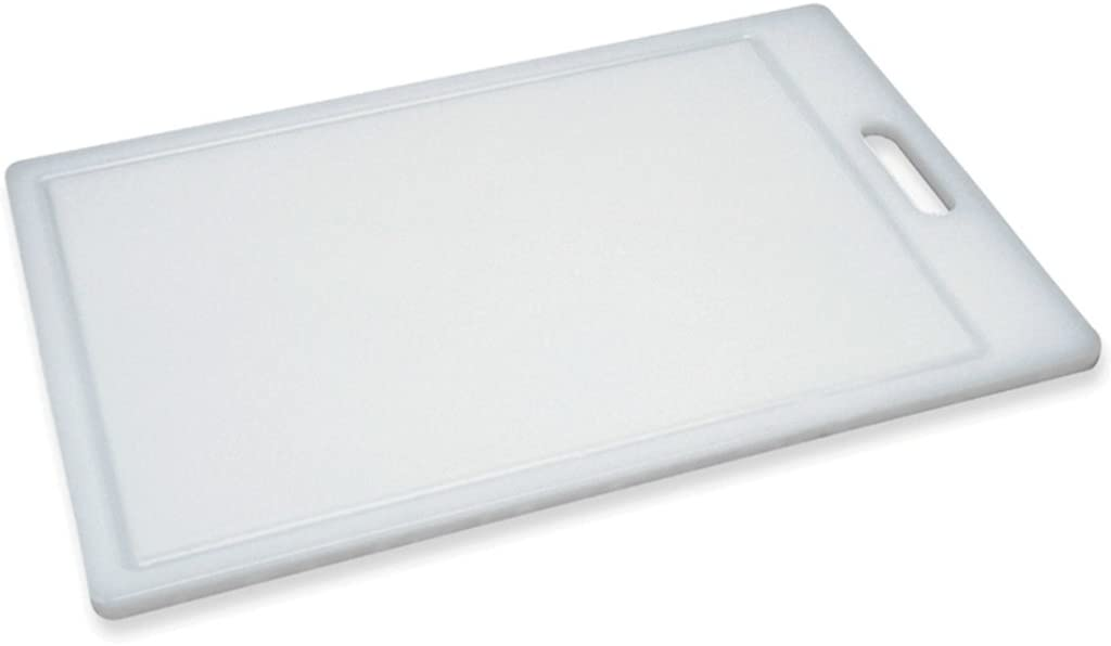 """Progressive Prep Solutions Cutting Board, Juice Grooves, Large Thick Chopping Board, Dishwasher Safe, Measures 17.38"""" X 11.25"""""""