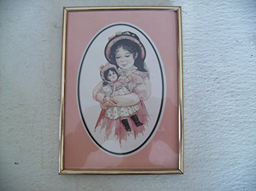 Jan Hagara #4 Olivia & Her Jumeau Doll Metal Framed Art Card 7