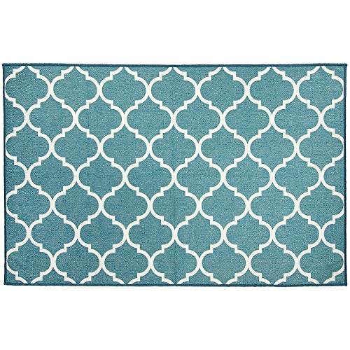 RUGGABLE Washable Stain Resistant Indoor/Outdoor, Kids, Pets, and Dog Friendly Accent Rug 3