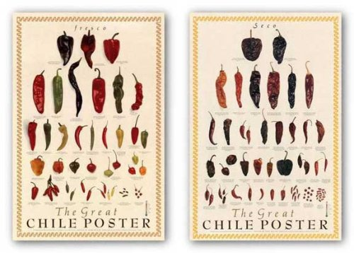 Great Chile Poster Set by Mark Miller Art Print