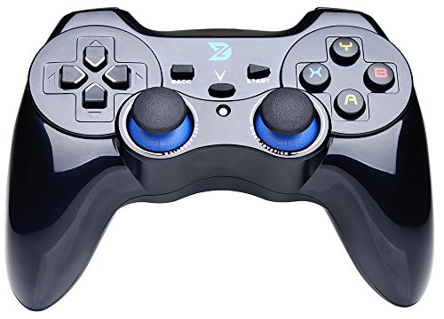 ZD V 2.4Ghz Wireless Controller For PC(Windows XP/7/8/8.1/10) & PlayStation 3 & Android&Steam - Not support the Xbox 360/One (Wireless Game Controller For Pc)