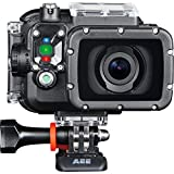 AEE Technology Action Cam S60 1080P/60 16MP Slim Body Wi-Fi Waterproof Wireless Action Camera with 2.0-Inch LCD (Black)