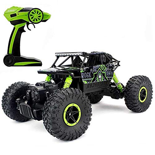 Tuptoel 1/18 RC Rock Crawlers Car Monster Truck 2.4G Remote Control 4WD Off Road Dune Buggy Vehicle Toys for Boy