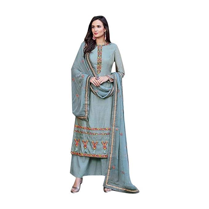Amazon.com: Traje de mujer de estilo étnico indio Bollywood ...