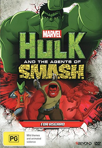Hulk And The Agents Of SMASH For Asgard DVD
