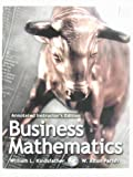 Business Mathematics, Kindsfather, William L. and Parish, W. Alton, 0130867071