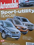 2000 2001 Acura MDX / Mercury Mountaineer / 2001 Porsche 911 Turbo / Mercedes Benz E320 4matic / BMW 540 IA Sport Wagon / BMW X5 / Mercedes ML55 ML 55 AMG Magazine Article