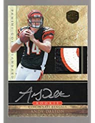 Andy Dalton 2011 Panini Gold Standard Rc On Card Auto/patch #175/525 Bengals - Panini Certified - Football Slabbed Autographed Rookie Cards