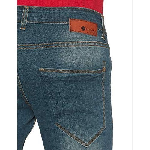 51HHvmjMPNL. SS500  - Amazon Brand - Symbol Men's Skinny Fit Jeans