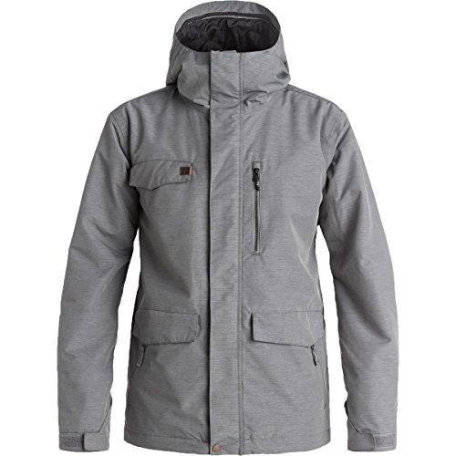 Quiksilver Snow Men's Raft Snow Jacket, Quiet Shade, Large