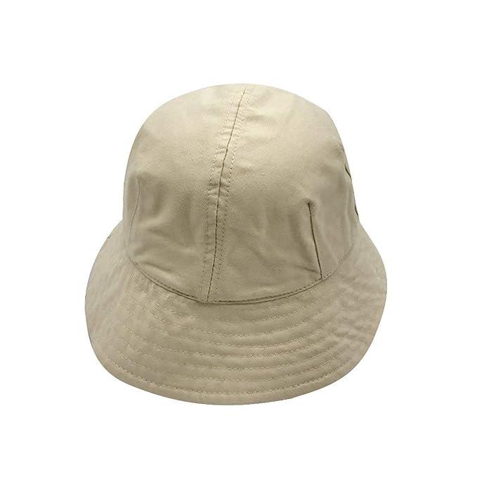 Gorros Cubo Sombrero Unisex Hombres Mujeres Pesca Sombrero Tela De Fácil De Igualar Algodón Ocio Sombrero