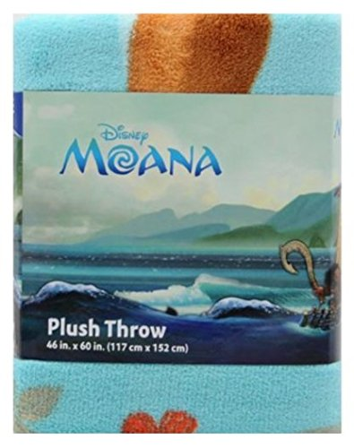 Disney Moana Plush Throw 46 inches x 60 inches