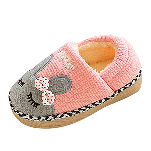 Cartoon Rabbit bag foot Slippers,G-real Toddler Baby Boys Girls Cute Cartoon Shark Shoes Soft Anti-slip Winter Home Shoes