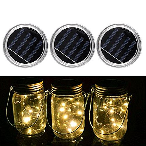 Pack Solar Mason Jar Lid product image