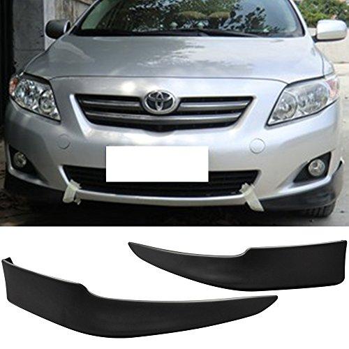 09-10 Toyota Corolla OE Style Polypropylene Front Bumper Lip Spoiler Splitter