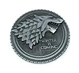 Buycleverly Direwolf Stark House Wolf Exclusive Pin Brooch Deluxe Game of Thrones GOT