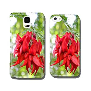 Scarlet glory flower cell phone cover case Samsung S5