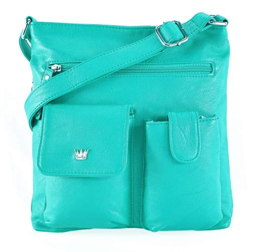 - Purse King Colt Concealed Carry Handbag (Turquoise)