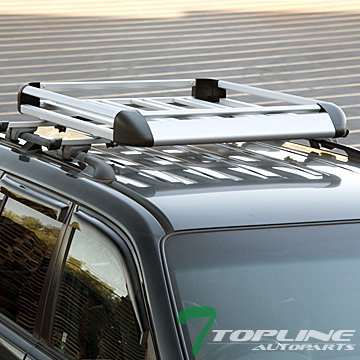 Topline Autopart Silver Carrier Luggage