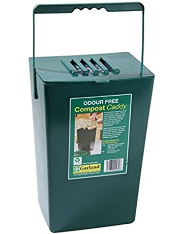 9 Litre Midi Odour Free Compost Caddy Kitchen Waste Bin