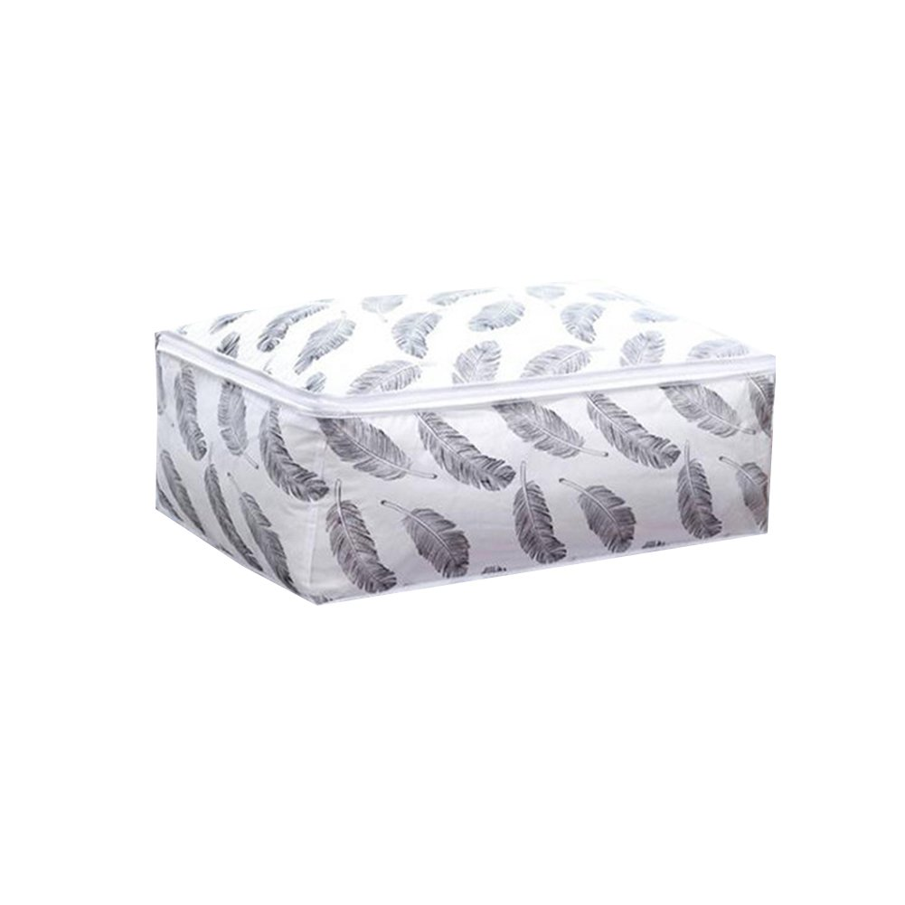 Youkara High Density Oxford Fabric Under Bed Storage Bag, Closet Organizer Soft Bag, Space Saver Bag for Clothing, Duvets, Bedding, Pillows, Curtains