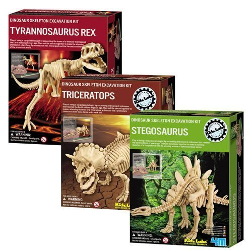 Dig A Dino Excavation Kit 3 Pack by Toysmith