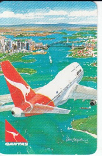 a-single-vintage-swap-playing-card-qantas-airline