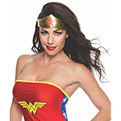 Rubie's Costume Co Women's Dc Superheroes Wonder Woman Tiara