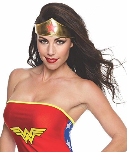 Rubie's Women's DC Superheroes Headband, Wonder Woman, One -