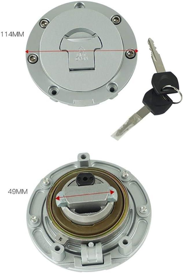 Cyclist store Motorrad Z/ündschloss Kraftstoff Tankdeckel Seat Lock Key F/ür Honda CBR1000RR CBR 600RR 2007-2014