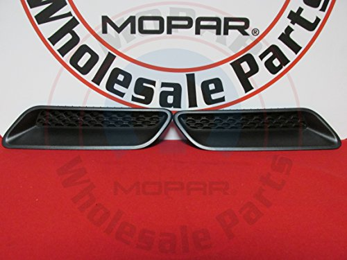 RAM 1500 Left And Right Side Sport Hood Bezels NEW OEM MOPAR