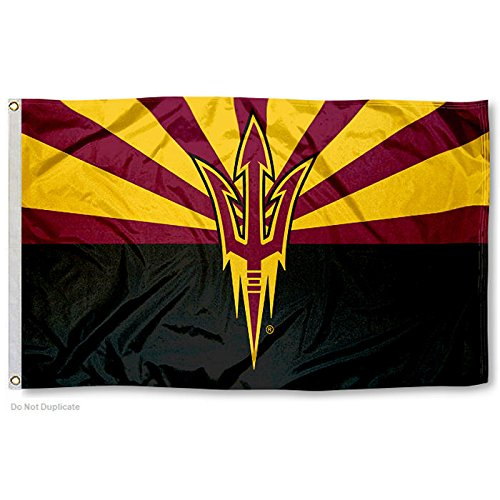 - College Flags and Banners Co. Arizona State Sun Devils AZ State Design Flag