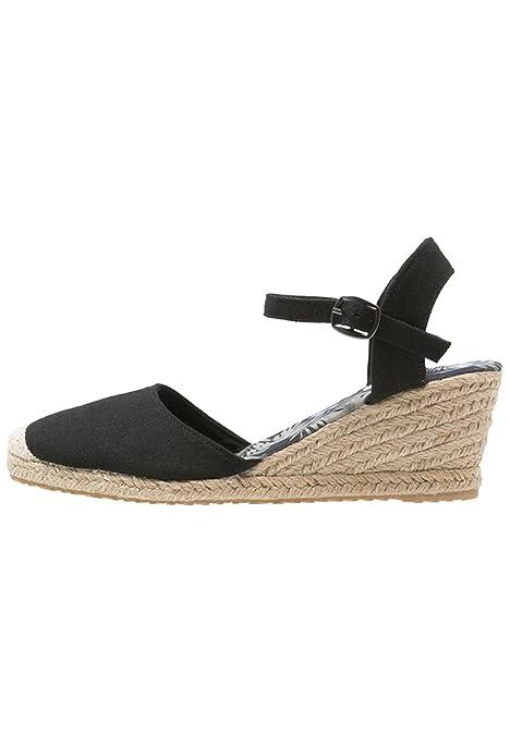 Anna Field Alpargatas con Cuña - Negro, 41: Amazon.es: Zapatos y complementos