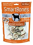 corn 50 lbs - SmartBones Sweet Potato Dog Chew, Mini, 16 pieces/pack