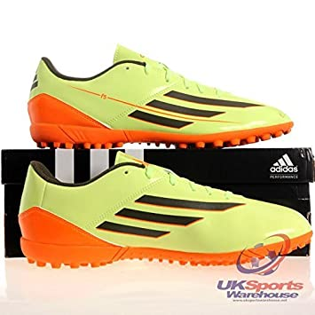 sale retailer c02a9 e03bd adidas F5 TRX TF Hombre Astro Traxion Zapatillas De Fútbol CéspedBotas -  VerdeNaranja, 42 EU Amazon.es Deportes y aire libre