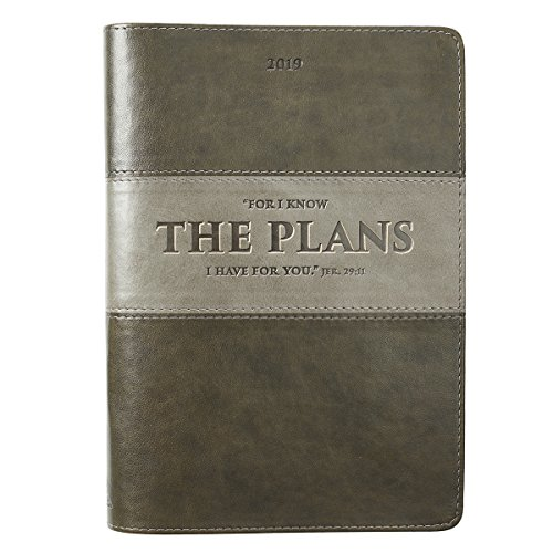 2019 Executive Planner with Zipper Closure - The Plans