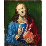 Gifts Delight Laminated 24x29 Poster: Albrecht Durer - Albrecht Drer - Salvator Mundi, 1505 Trivium Art History