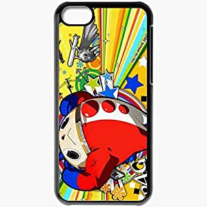 Personalized iPhone 5C Cell phone Case/Cover Skin Persona 4 Black by icecream design