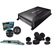 Pioneer GM-D9605 with Absolute TW800 tweeter, SP654 6.5 speakers and Cam-800 back up camera
