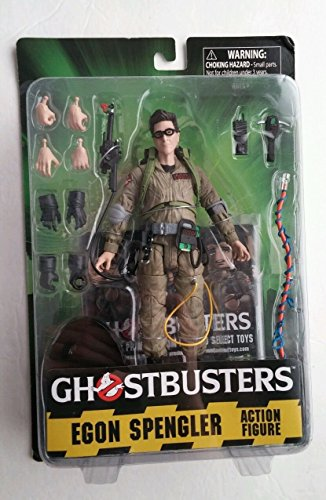"Ghostbusters Egon Spengler Diamond Select Toys 7"" inch Action Figure Exclusive"