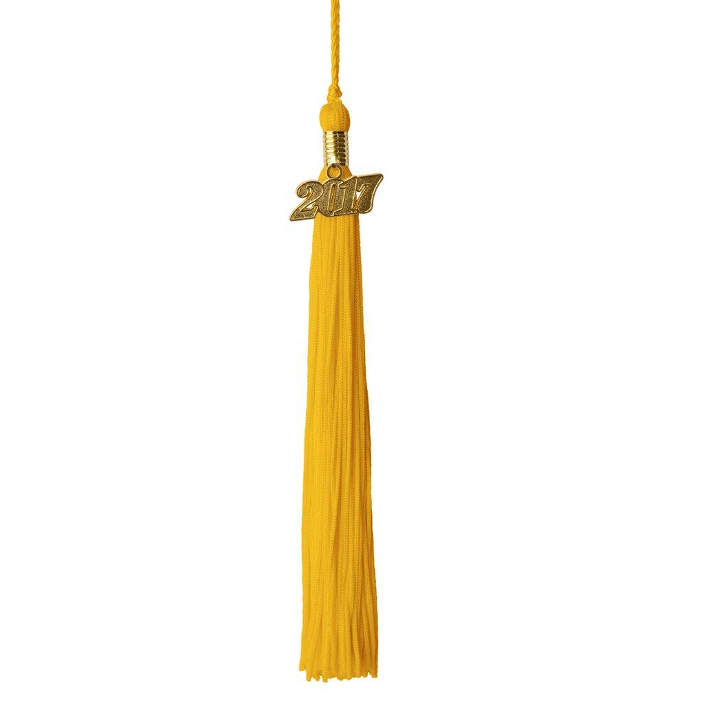 Graduation Tassel Year 2017 with gold charm Class Act Graduation