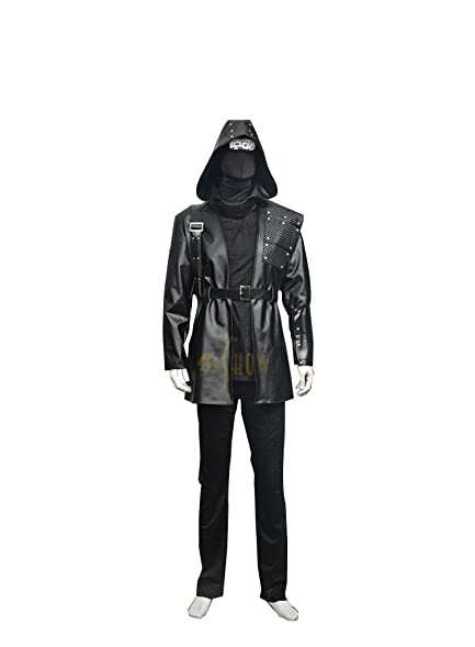 Mtxc Menu0027s Arrow Cosplay Costume Black Arrow Full Set Size XX-Small Black  sc 1 st  Amazon.com & Amazon.com: Mtxc Menu0027s Arrow Cosplay Costume Black Arrow Full Set ...
