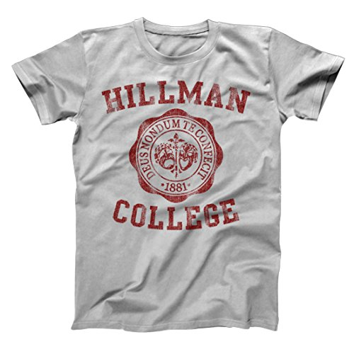 Funny Threads Outlet Hillman College University Seal School Costume Uniform Mens Shirt XXXXXX-Large (Uniform Outlet Store)