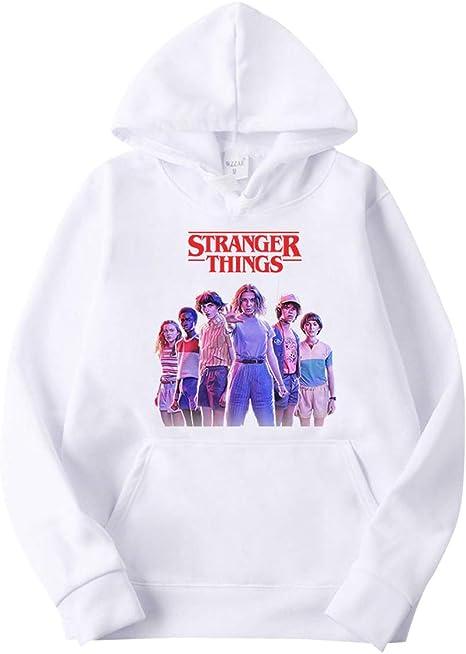 Sudadera Stranger Things Niños, Stranger Things 3 Niña Sudadera ...