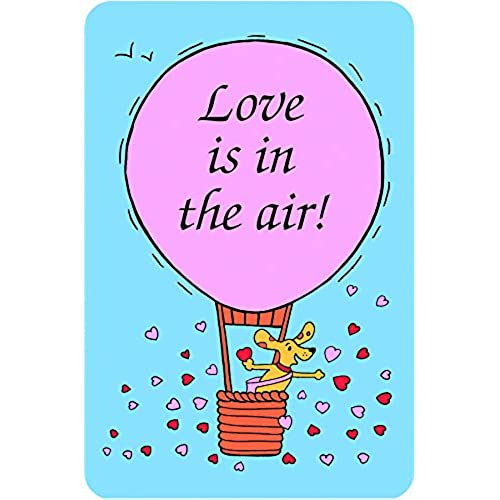 Edible Crunch Card for Dogs -Love is in the Air Sales