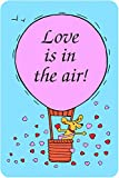 "Edible Crunch Card for Dogs -""Love is in the Air"""