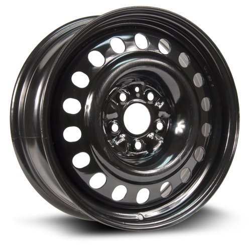 Aftermarket Steel Rim 17X7, 5X114.3, 66.1, +45, black finish (MULTI APPLICATION FITMENT) X47561