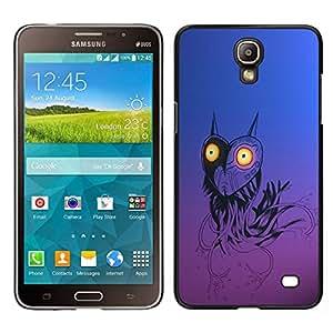 EJOY---Cubierta de la caja de protección para la piel dura ** Samsung Galaxy Mega 2 ** --Divertido Robot del búho del corazón