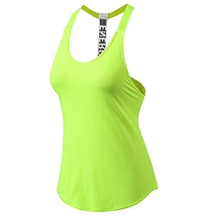 Camiseta de entrenamiento de yoga para mujer Chaleco para ...
